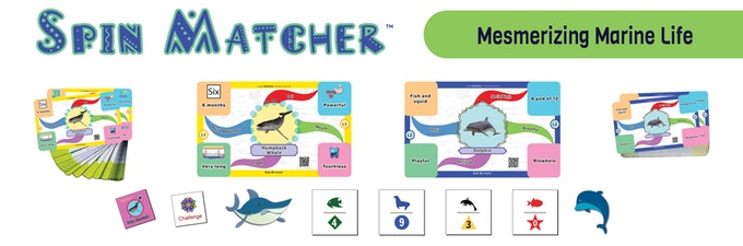 Spin Matcher Power Mind Map Cards